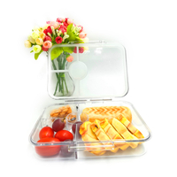 Clear Tritan Custom Kid Lunch Bento Box