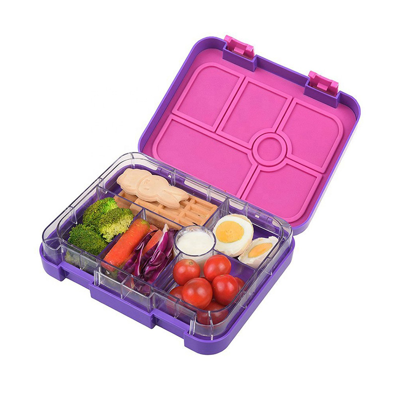 Best 6 Compartment Large Size Bento Lunch Box for Adult - AHOEA